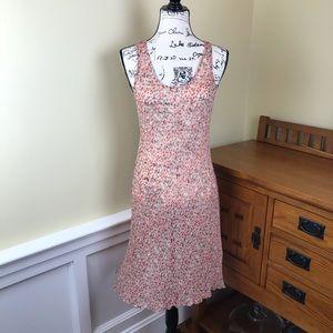 Tommy Bahama 100% Silk Sleeveless Floral Dress